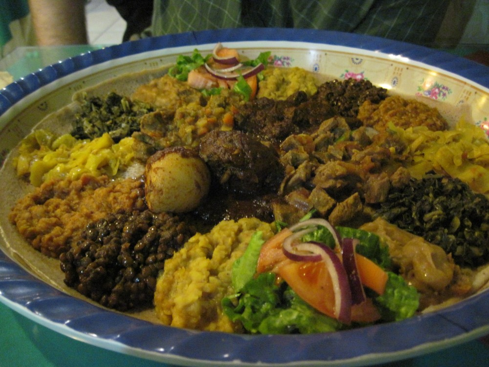 Ethiopian Food in Indy (2/3)